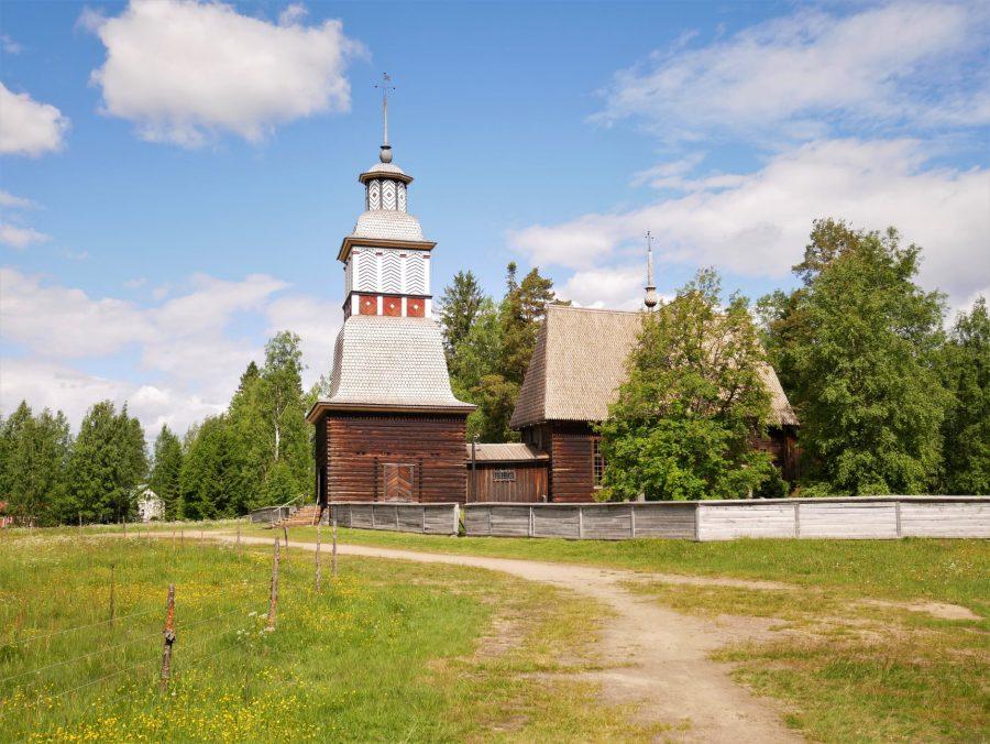 La vieja iglesia de Petäjävesi es Patrimonio de la Humanidad
