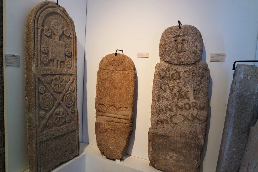 Laudas en el museo de Arqueología, A Coruña