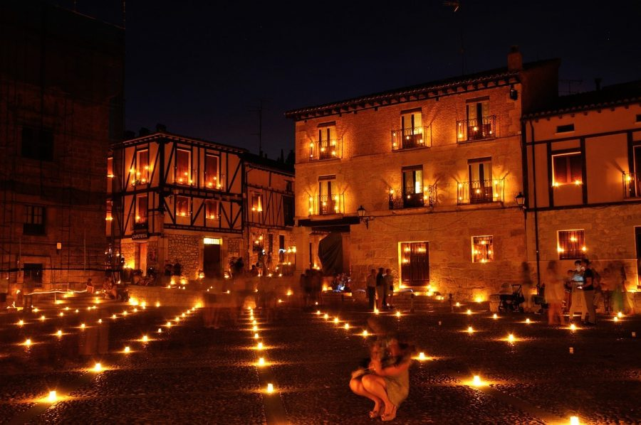 Noche de las Velas en Peñaranda de Duero