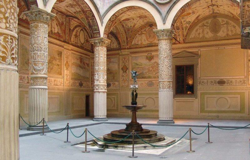 Palacio Vecchio, ruta por La Toscana en coche de 4 días