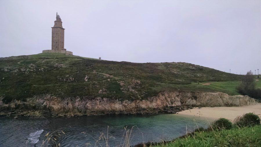 Playa de las Lapas en A Coruña