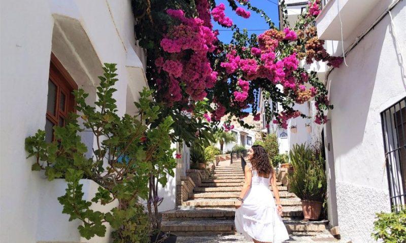Subida al castillo de Salobreña, qué ver en Granada provincia
