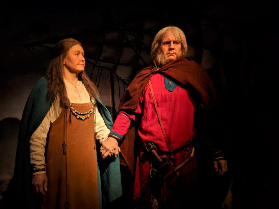 Vikingos en el museo de las sagas