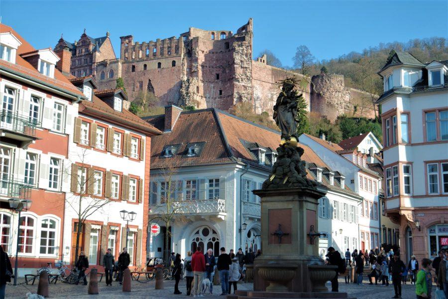 Casco antiguo, qué ver en Heidelberg en Alemania
