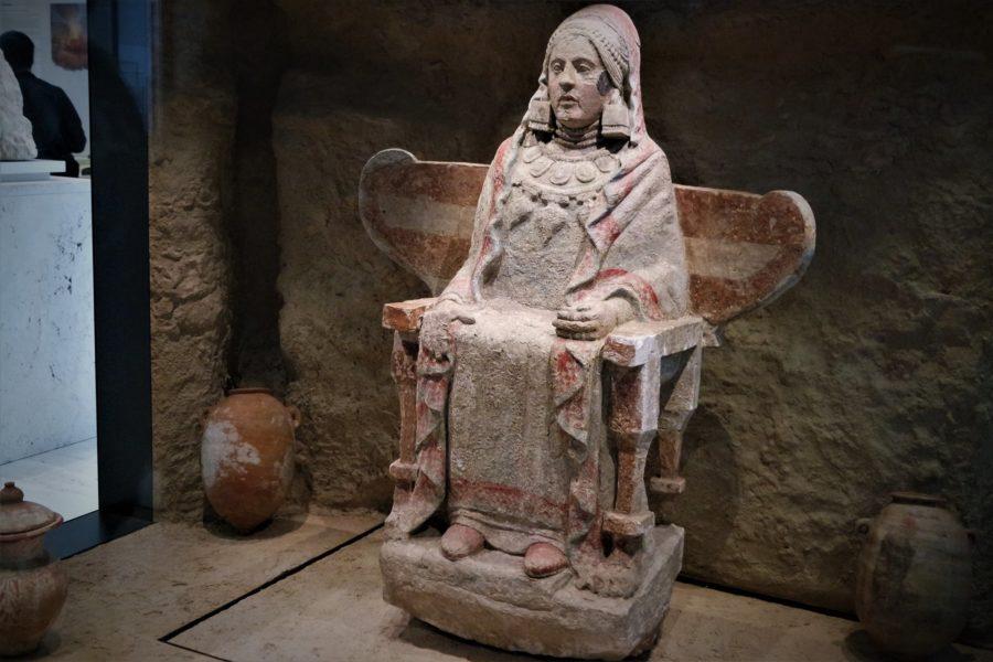 La Dama de Baza, Museo Arqueológico Nacional