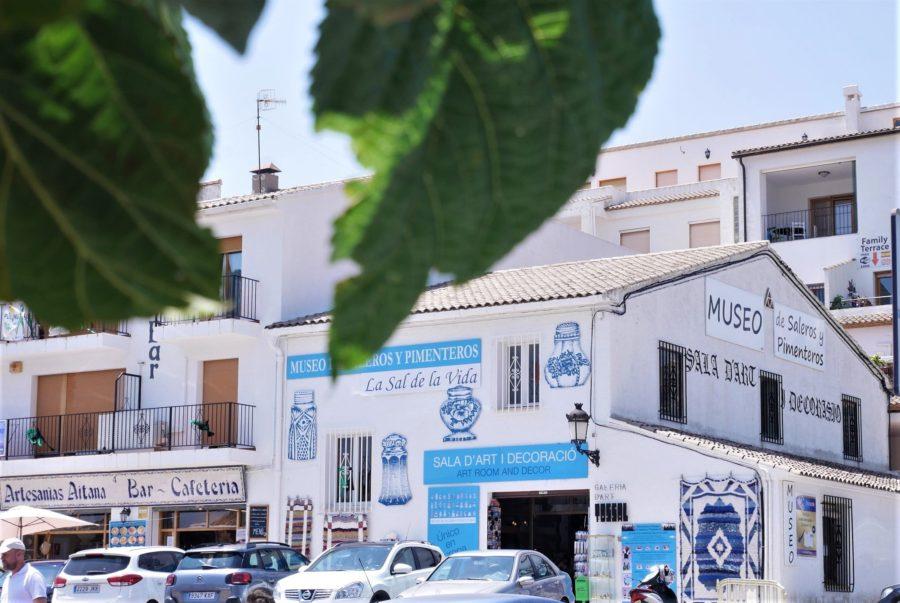 Museo de Saleros y pimenteros, qué ver en El Castell de Guadalest