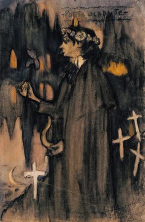 Poeta decadente, Museo Picasso