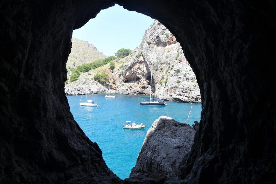 Sa Calobra, una de las playas más bonitas de Mallorca