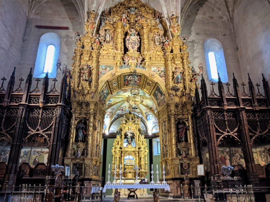 Altar y Panteón Real de San Salvador, qué ver en Oña