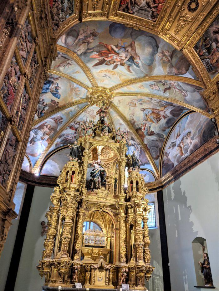 Capilla de San Íñigo, San Salvador de Oña