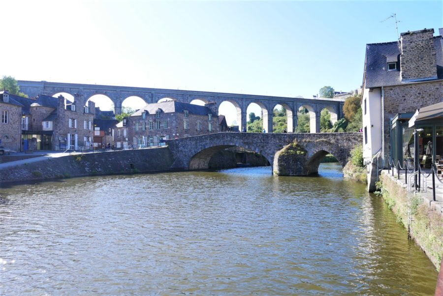 El Puente Viejo, puerto de Dinan