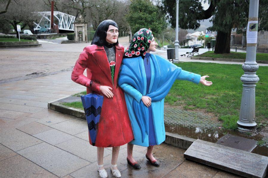 Las dos Marías de Santiago, parque de la Alameda, qué ver en Santiago de Compostela