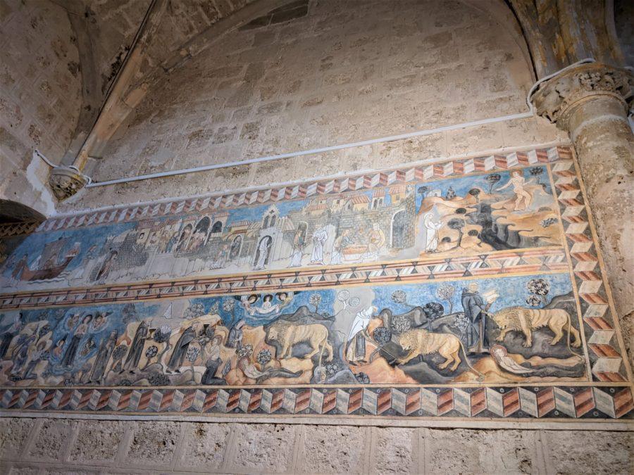 Murales de San Salvador de Oña
