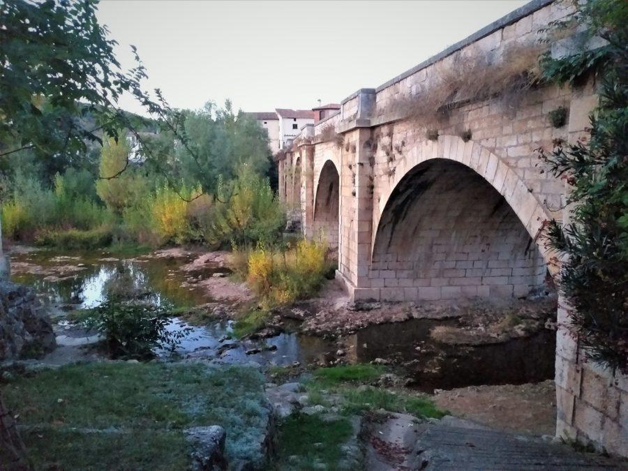 Puente sobre el Arlanza en Covarrubias