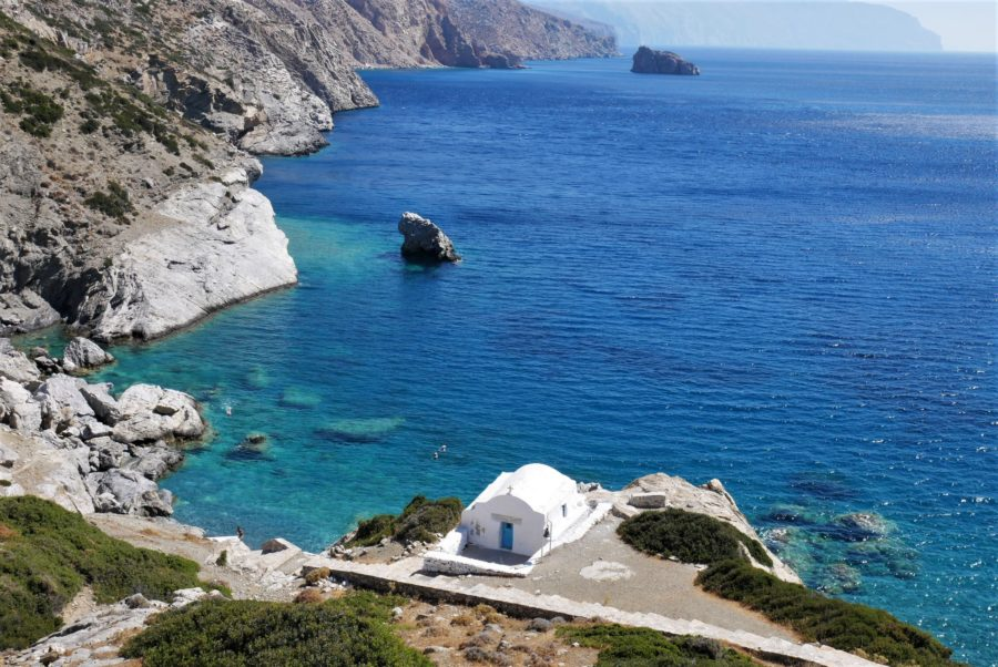 Qué ver en Amorgos, la isla del gran Azul en Grecia
