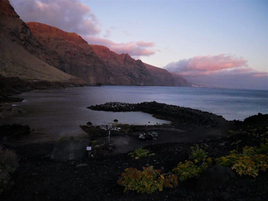 Atardecer en los acantilados de Los Gigantes, Tenerife