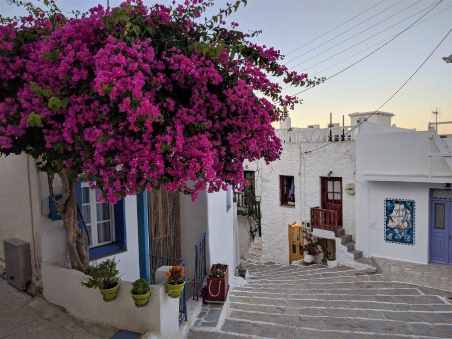 Calles de Plaka, qué ver en Milos Grecia