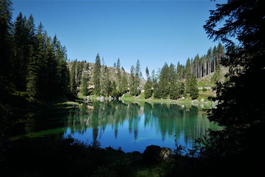 Carezza el lago esmeralda