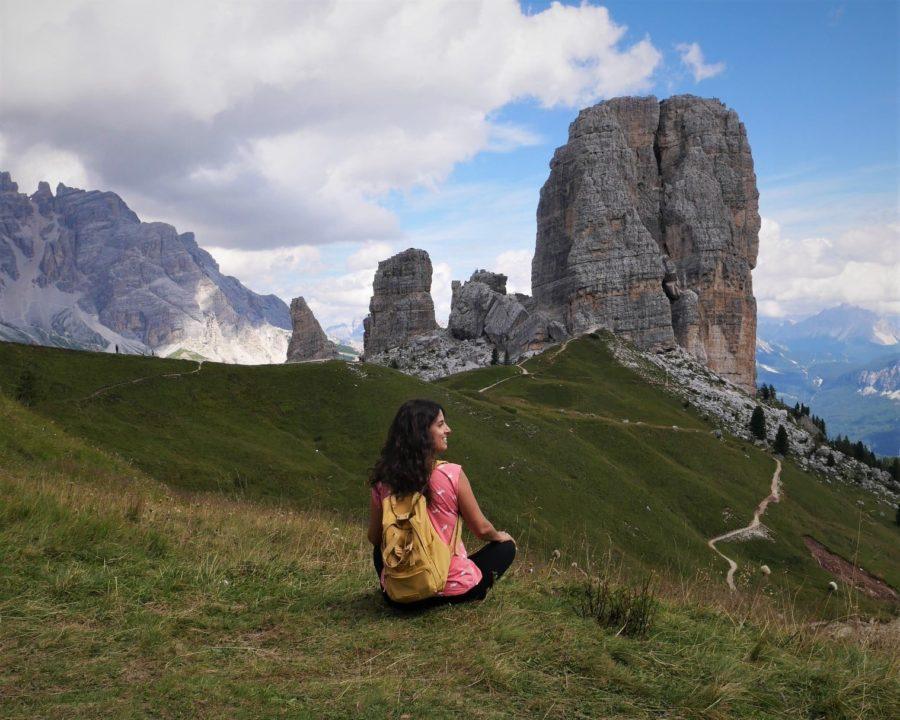 Cinque Torri, trekking en los Dolomitas por libre
