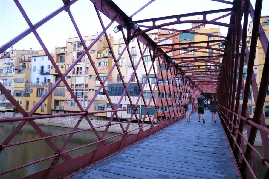 El puente de Hierro, qué ver en Girona ciudad