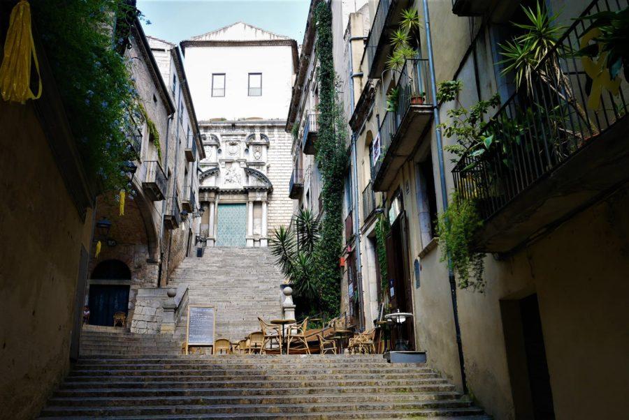 Escalera de Sant Martí, localizaciones de Juego de Tronos en Girona