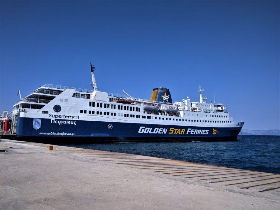 Ferry de Atenas a la isla de Paros