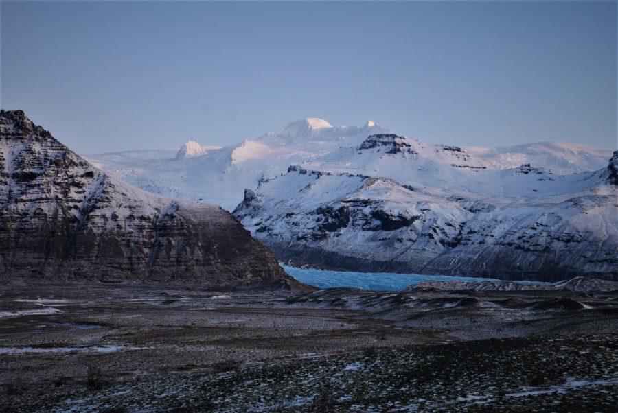 Glaciares del sur de Islandia