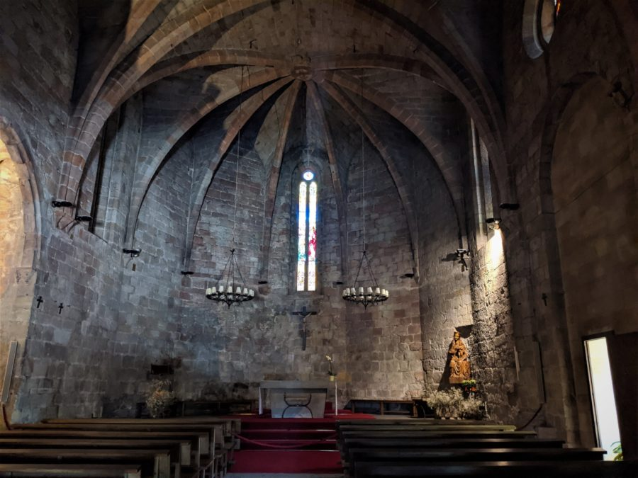Iglesia de Sant Pere en Pals, Girona