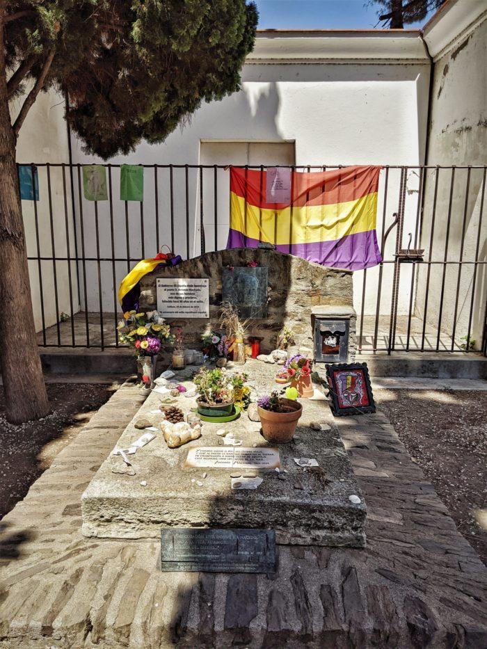 La Tumba de Antonio Machado en Collioure, Francia