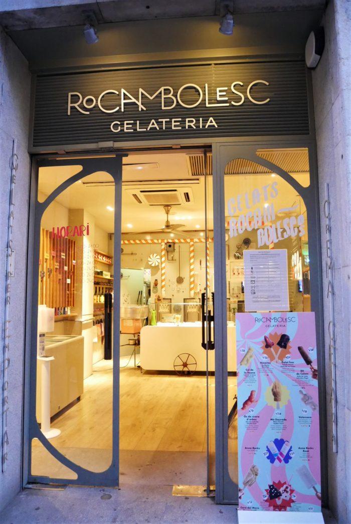 La heladería Rocambolesc de Girona