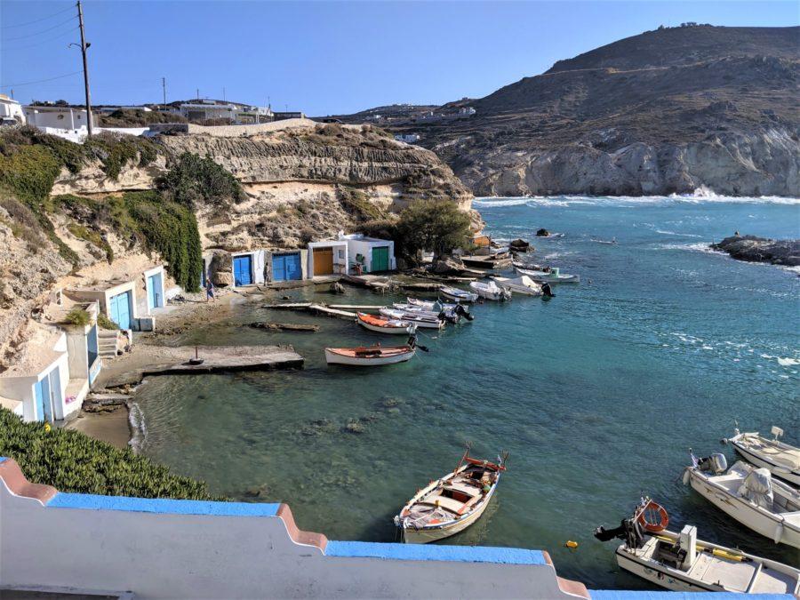 Mandrakia, qué ver en Milos Grecia