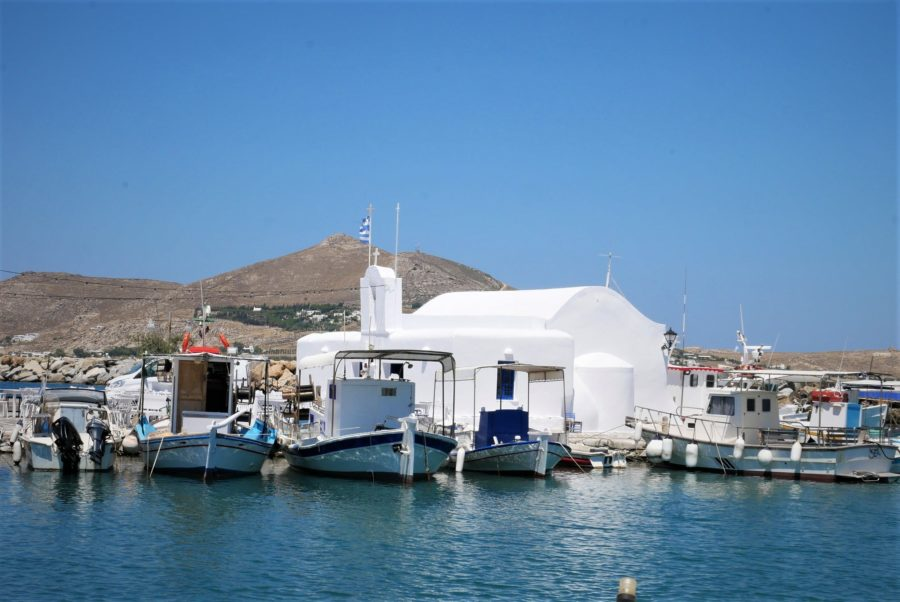 Naoussa, Paros, ruta por las islas griegas