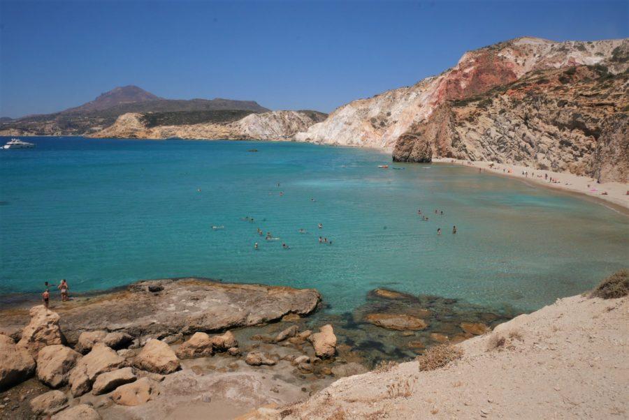 Playas de Milos, islas griegas