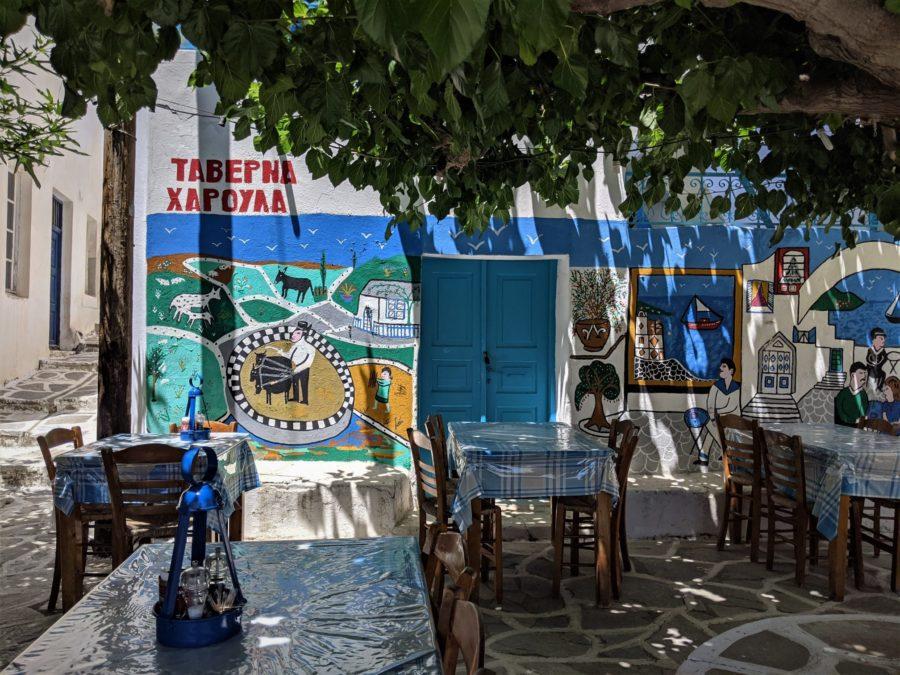Taberna en Marpissa, qué ver en Paros Grecia