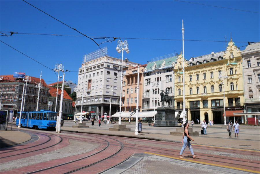 Tranvía en Zagreb