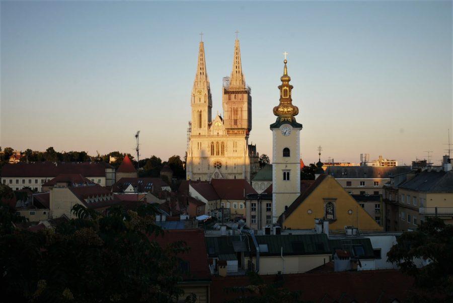 Vistas de Zagreb, Croacia