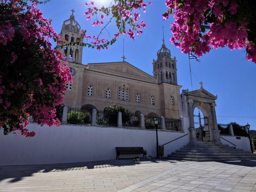 iglesia de Agia Triada en Lefkes, Paros