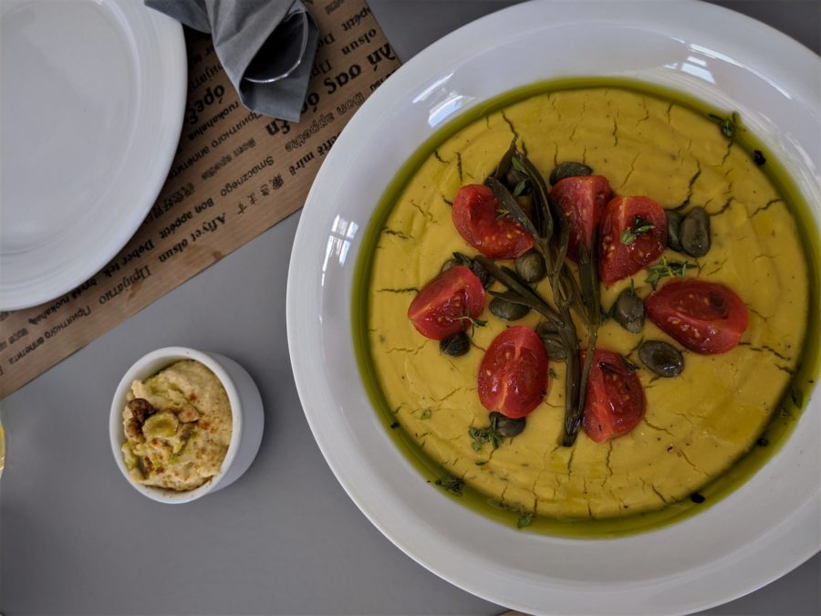 Fava, gastronomía típica de las islas Cícladas