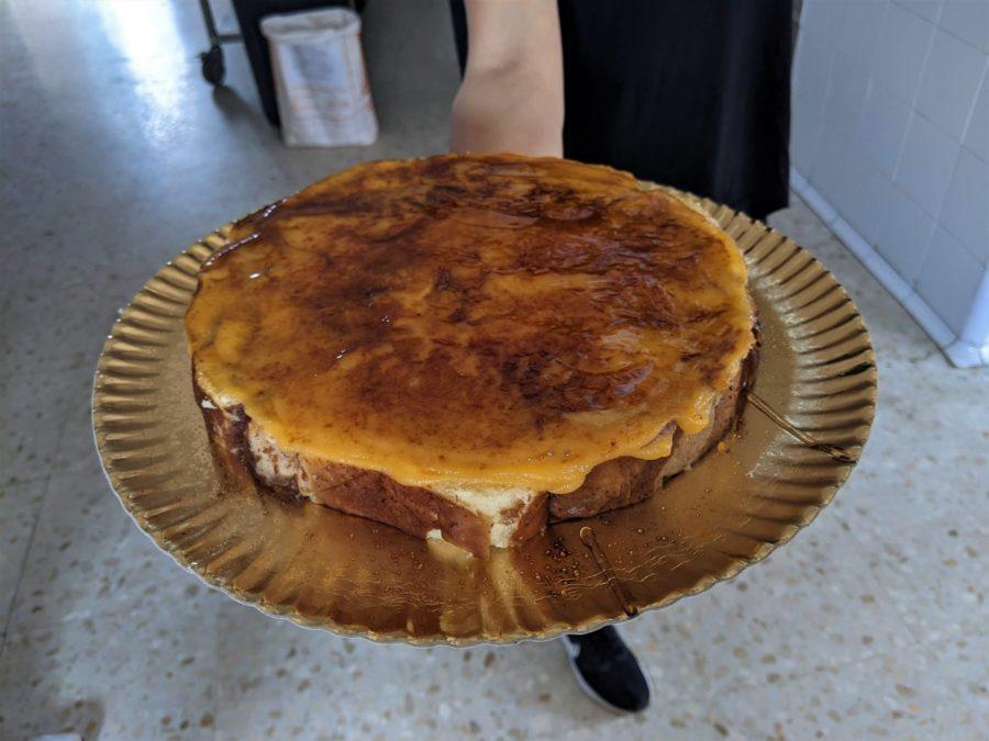 Tarta de piononos en Los Tolinos, La Caleta