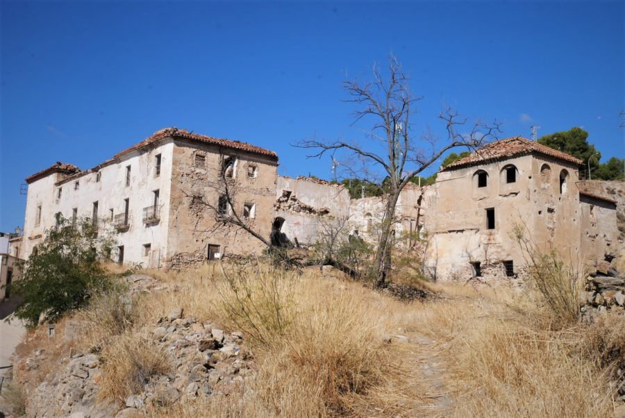 Antiguo monasterio en Laujar de Andarax