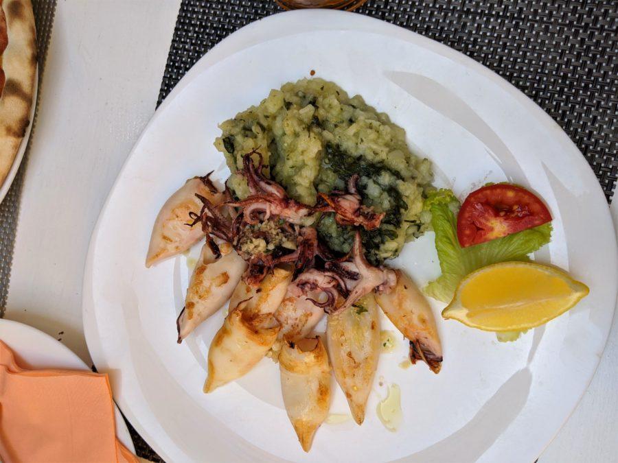 Calamares, restaurante en Rovinj
