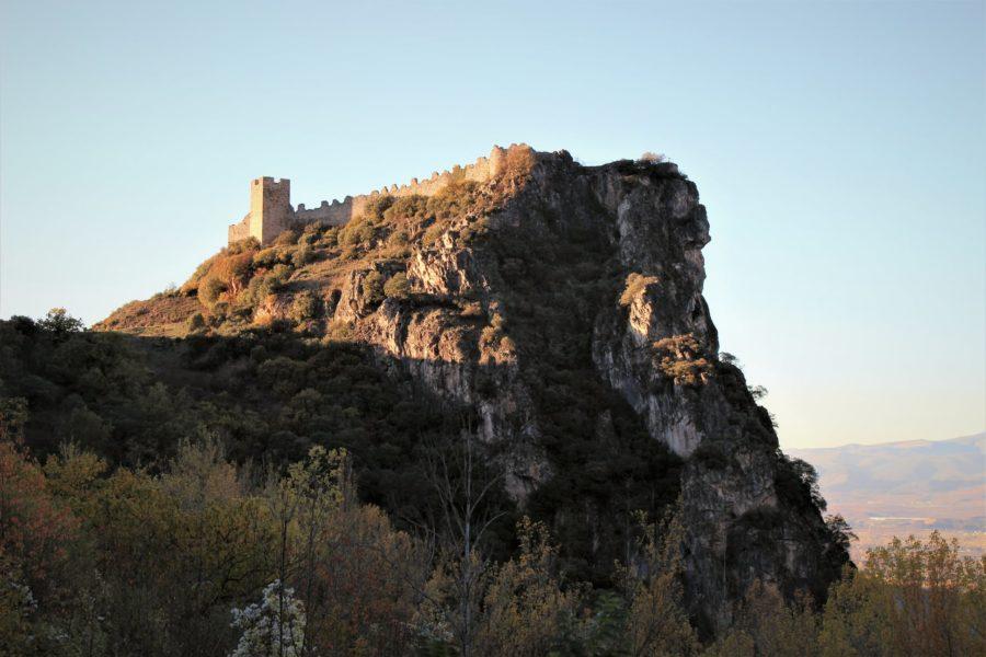 El castillo de Cornatel, León