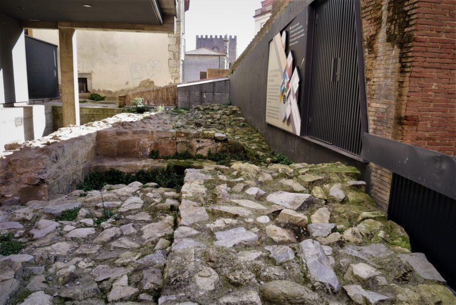 Murallas romanas de Gijón