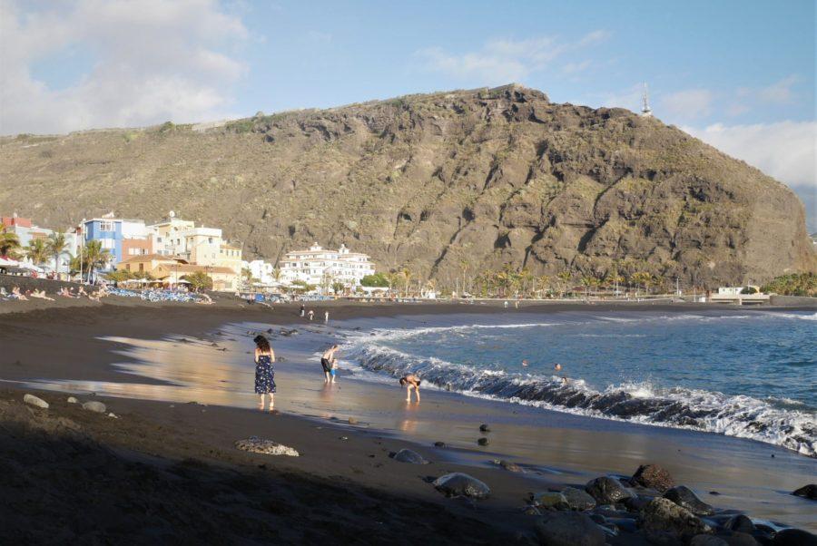 Playa de Tazacorte, isla de la Palma