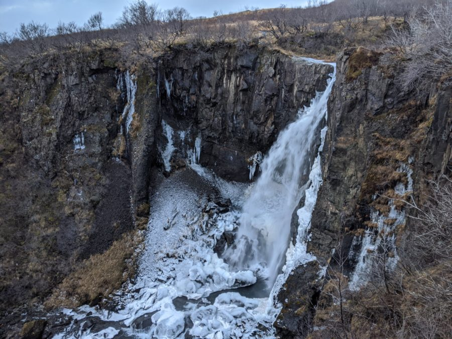 Cascadas de Islandia, parque nacional de Skaftafell