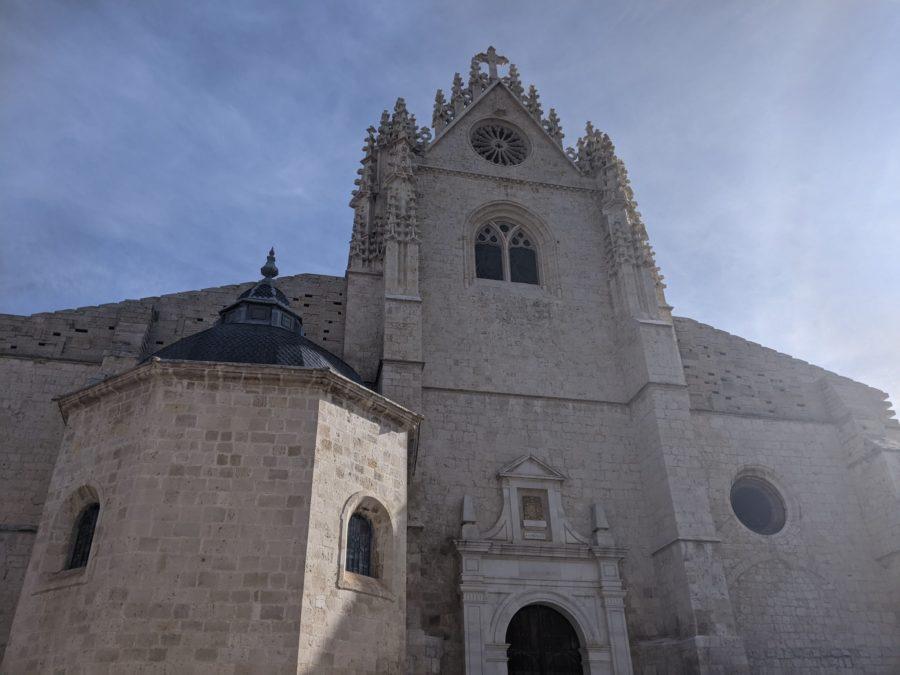 Fachada de San Antolín, catedral de Palencia
