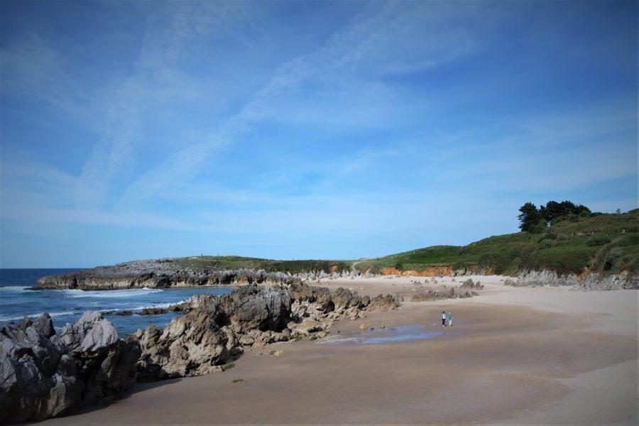 La playa de Toró, lugares de películas en Llanes
