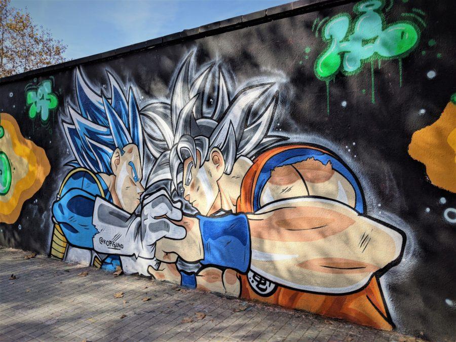 Bola de Dragon, murales poblenou