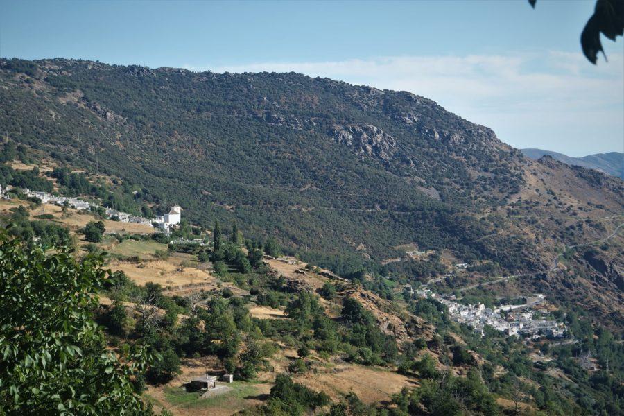 Bubión y Pampaneira desde Capileira