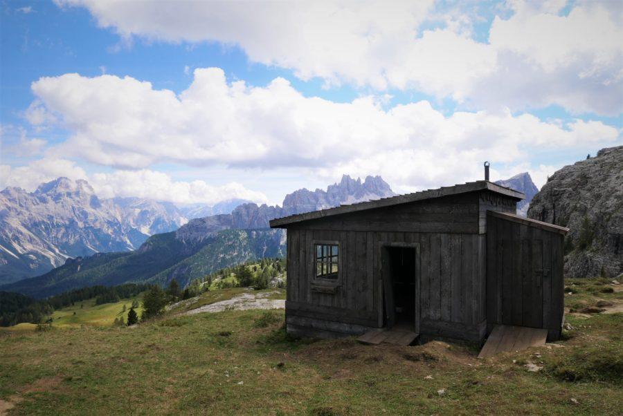 Cabaña en Dolomitas
